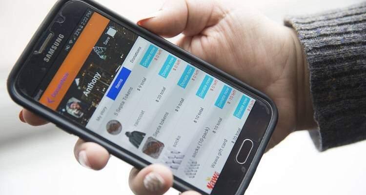 StreetChange è l'applicazione che ti aiuta ad aiutare i senzatetto!
