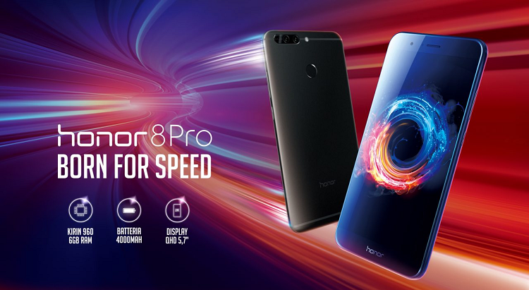 Honor 8 Pro con 6GB di RAM e 64GB di ROM in offerta su Amazon a prezzo scontato!