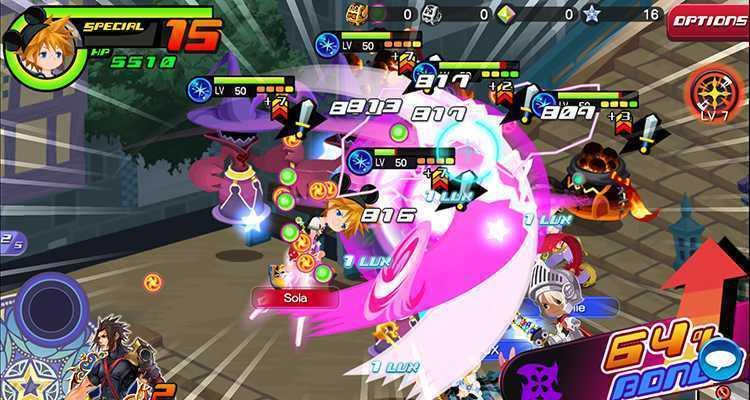 Kingdom Hearts Union X Cross ora disponibile