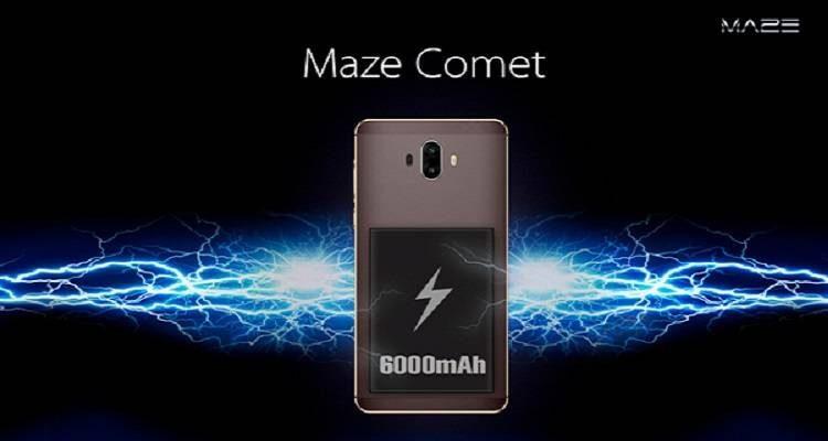 Arriva Maze Comet, lo smartphone dalla super-batteria!