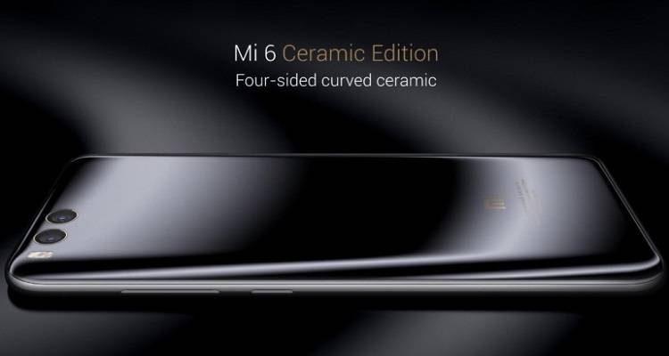 Che sorpresa: Da domani in vendita Xiaomi Mi 6 in ceramica!