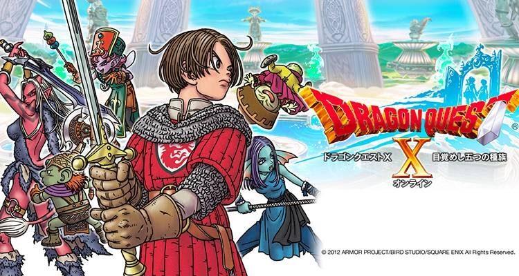 Dragon Quest X: ecco le date giapponesi per Switch e PlayStation 4