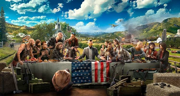 Ubisoft all'E3 mostra Far Cry 5 e i suoi compagni umani e animali