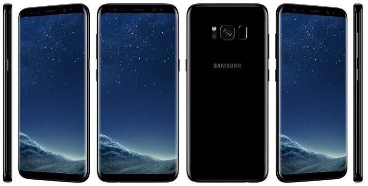 Samsung Galaxy S8 nero, con garanzia 24 mesi e con spedizione a poco più di 550 euro!