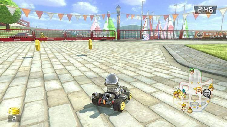 Acchiappamonete Mario Kart 8 Deluxe recensione Nintendo Switch