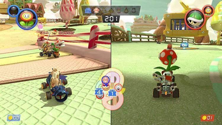 Dolce Colce Regno Mario Kart 8 Deluxe recensione Nintendo Switch