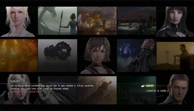 Final Fantasy 15 non sa cosa diventare da grande e chiede consiglio ai giocatori
