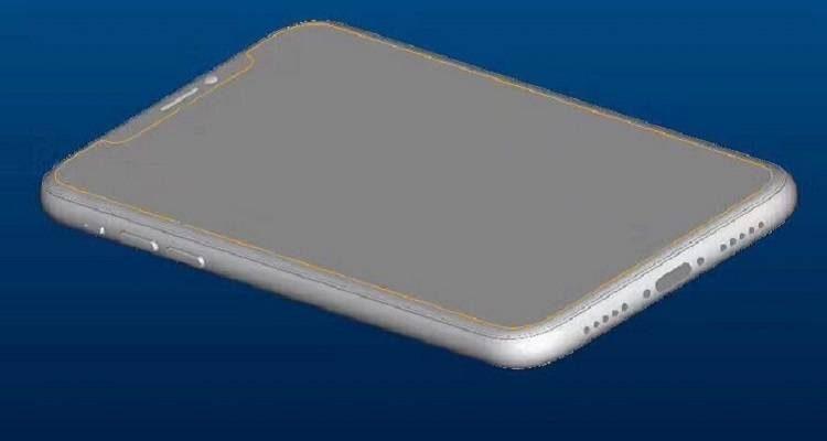iPhone 8, ecco gli schemi che confermano il display bezel-less