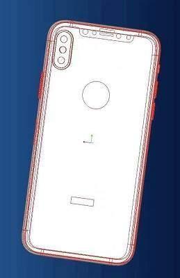 iphone 8 posteriore