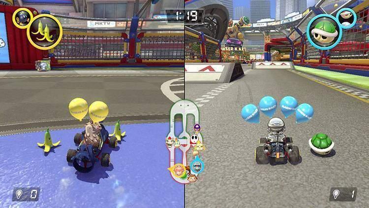 Kartodromo Mario Kart 8 Deluxe recensione Nintendo Switch