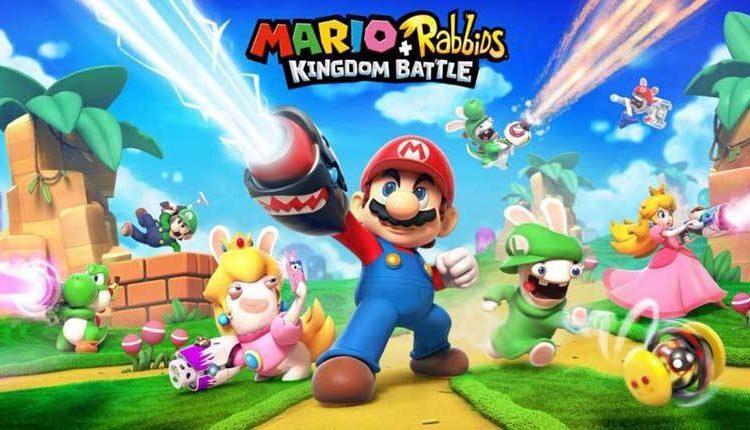 Mario + Rabbids Kingdom Battle dà una pistola a Peach e uno smartphone a Rabbid Peach