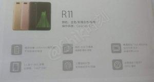 oppo r11 poster
