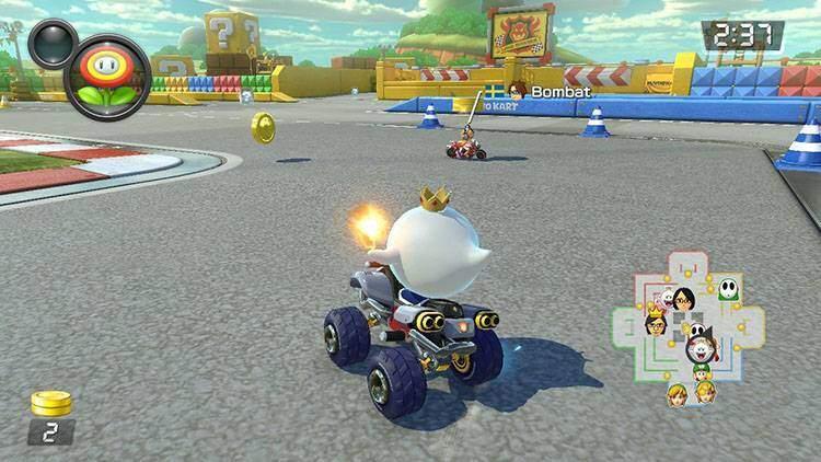 Percorso di Guerra Mario Kart 8 Deluxe recensione Nintendo Switch