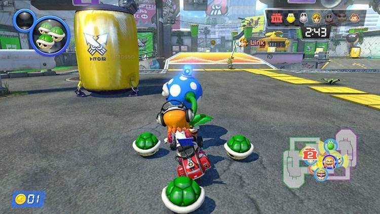 Periferia urbana Mario Kart 8 Deluxe recensione Nintendo Switch