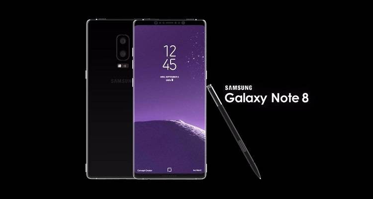 Samsung Galaxy Note 8 in un render per la stampa: c'è puzza di fake…