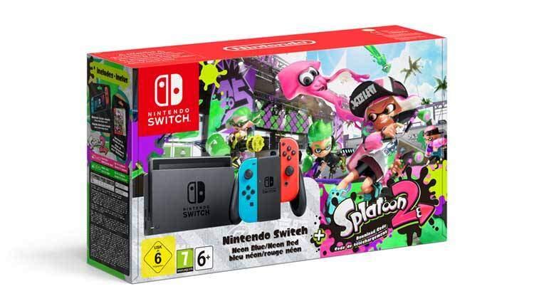 Splatoon 2 sarà il primo gioco in bundle con Nintendo Switch