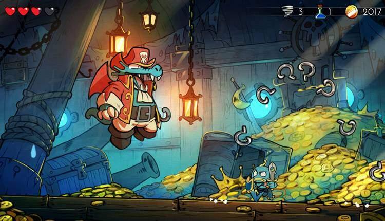 Wonder Boy The Dragon's Trap porterà le sue splendide animazioni anche su PC