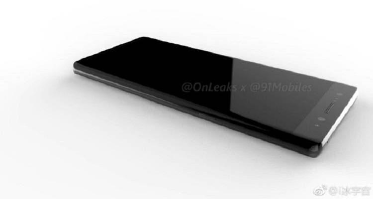 OnLeaks rilancia: in un video il design del Samsung Galaxy Note 8?