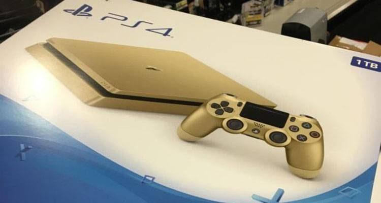 PlayStation 4 Slim Gold in arrivo la prossima settimana?