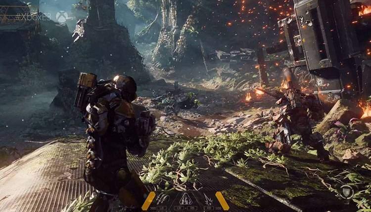 Sony spaccia per suo il video di Anthem che gira su Xbox One X