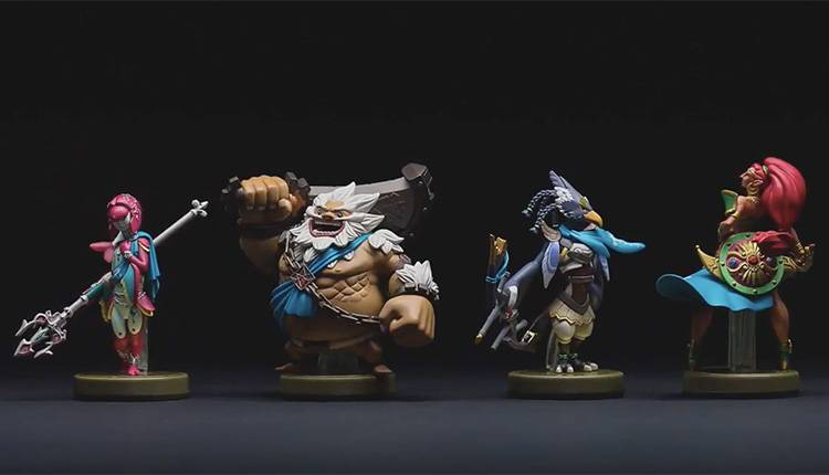 Il secondo DLC di Zelda Breath of the Wild è dedicato ai quattro Campioni