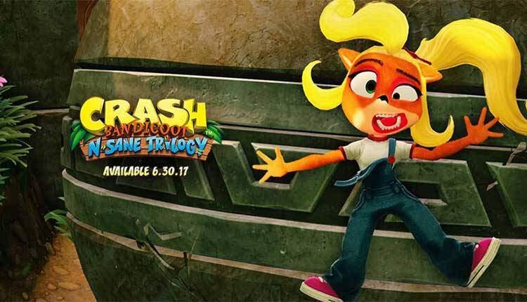Coco Bandicoot sarà giocabile in Crash Bandicoot N Sane Trilogy