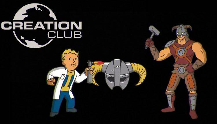 Cosa è il Creation Club di Fallout 4 e The Elder Scrolls 5 Skyrim Special Edition?