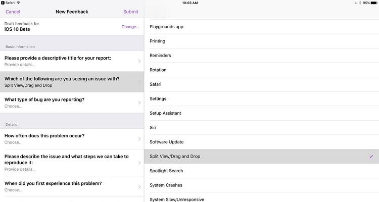 iOS 11 si apre al drag and drop: ecco i primi indizi