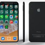 iphone 8 render home