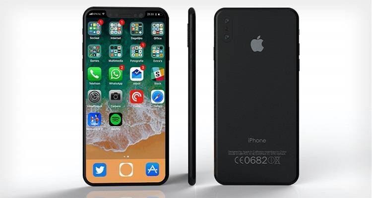 iPhone 8, nuovo render con iOS 11; intanto c'è la conferma su fotocamera 3D