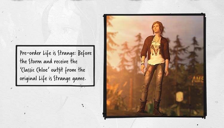 Life is Strange Before the Storm ha un costume come bonus pre-order e non ce la posso fare