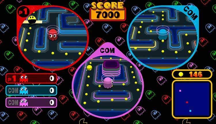 Namco Museum porta su Nintendo Switch uno dei più interessanti giochi di Pac-Man