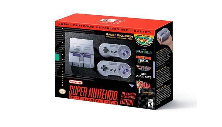 Nintendo annuncia SNES Mini, e dentro c'è anche un videogioco inedito