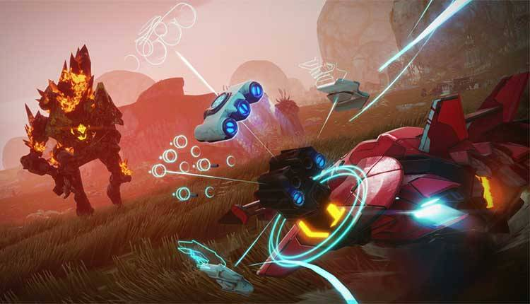 Starlink Battle for Atlas mi fa giocare con un'astronave che costruisco davvero