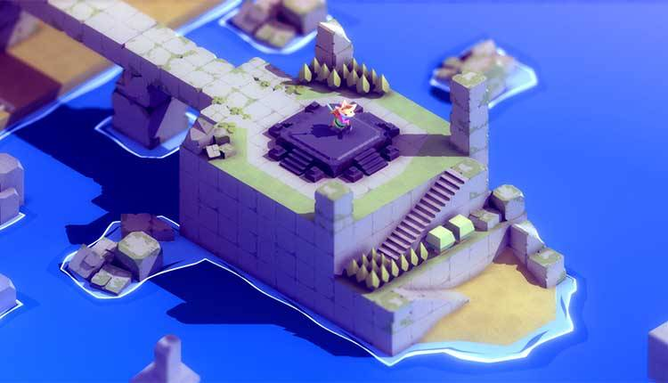 Tunic è un The Legend of Zelda low-poly con un volpacchiotto