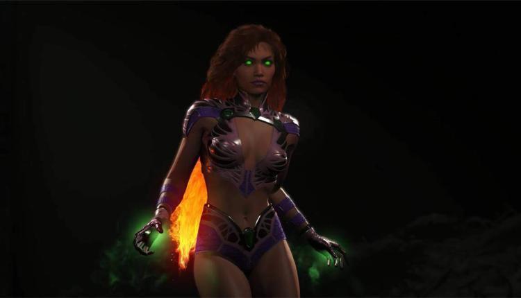 Injustice 2: il nuovo personaggio DLC Starfire si presenta in immagini e trailer
