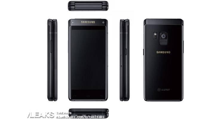 Samsung SM-W2018, ecco il render del prossimo smartphone a conchiglia