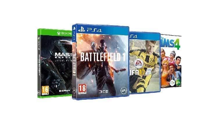 FIFA 17, Mass Effect, The Sims 4 e Battlefield 1 in offerta a un prezzo scontato per l'Amazon Prime Day