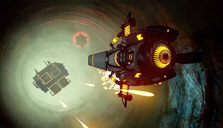Descent rivive in Descent Underground, ora disponibile in demo gratuita multiplayer