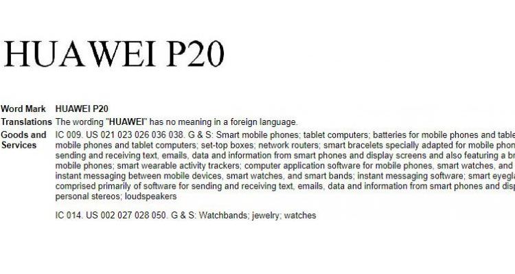 Huawei P20: il marchio c'è, ma dello smartphone non v'è traccia