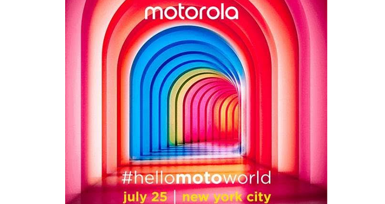 Motorola, #hellomotoworld si terrà il 25 luglio a New York