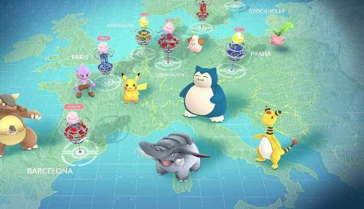 Pokémon GO: Pokémon non europei arriveranno in Italia per un periodo limitato