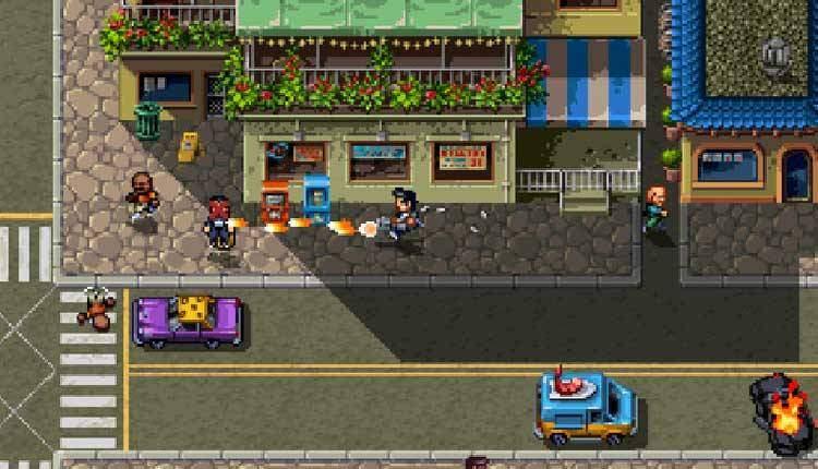 Shakedown Hawaii è un GTA 16bit seguito di Retro City Rampage