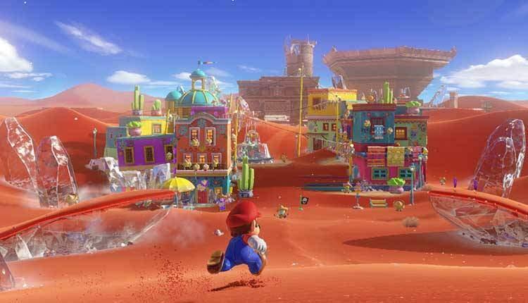 Super Mario Odyssey rinuncia a vite, Game Over e funghi verdi
