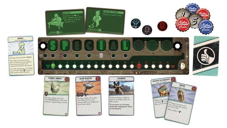 Fallout A Post-Nuclear Board Game