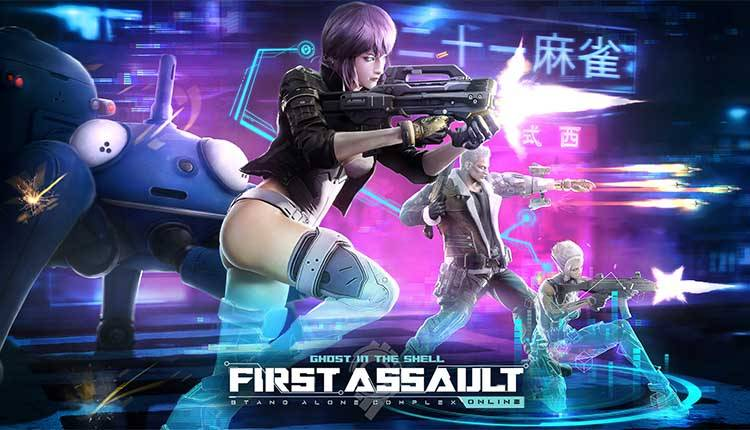 Ghost in the Shell Stand Alone Complex First Assault Online chiude
