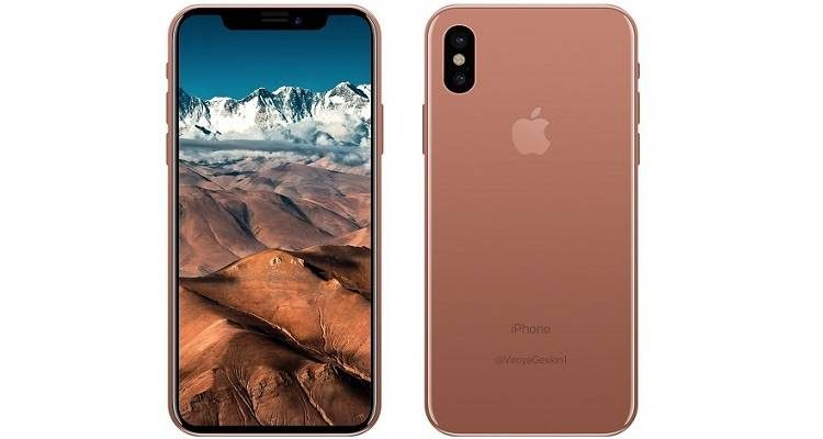 "iPhone 8 color oro-rame si chiamerà ""Blush Gold"": arriva solo con 64 e 128 GB?"