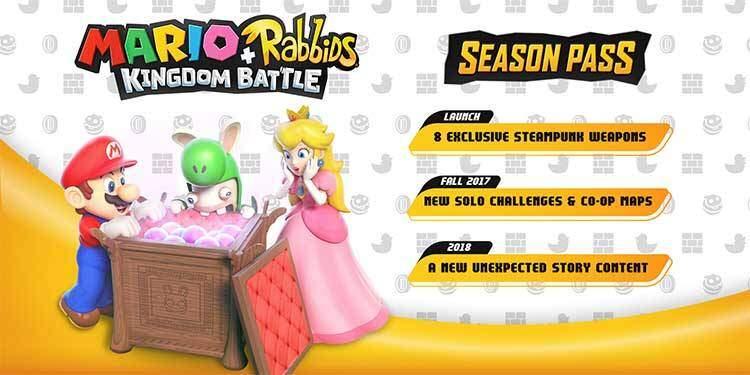 Mario Rabbids Kingdom Battle Season Pass