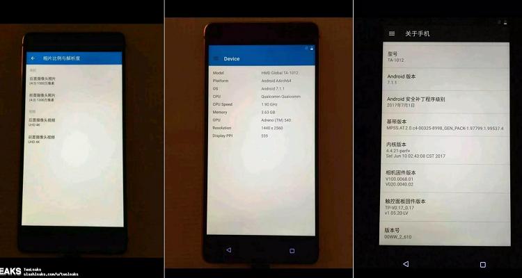 Nokia 8, specifiche in una botte di ferro: confermate da tre immagini