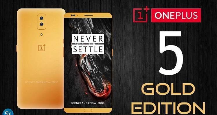 OnePlus 5, sarà la versione gold quella con la nuova colorazione?